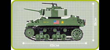 Char léger américain M5A1 STUART VI - COBI-2478