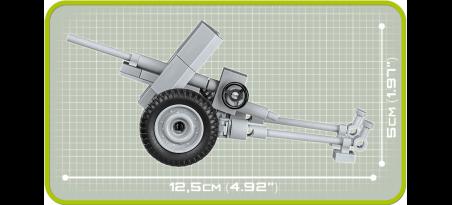 Canon antichar allemand 3.7 cm Pak 36 - COBI-2396