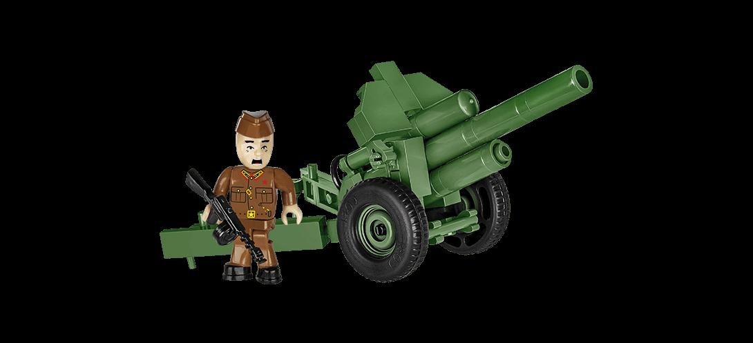 Obusier soviétique 122 mm Howitzer M30 - COBI-2395