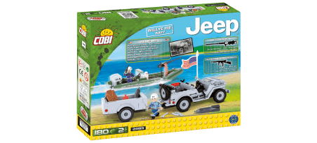 Jeep Willys MB Navy - COBI-24193