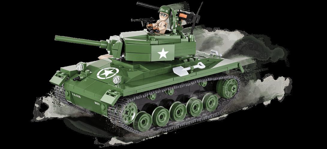 Char léger américain M24 CHAFFEE - COBI-2457