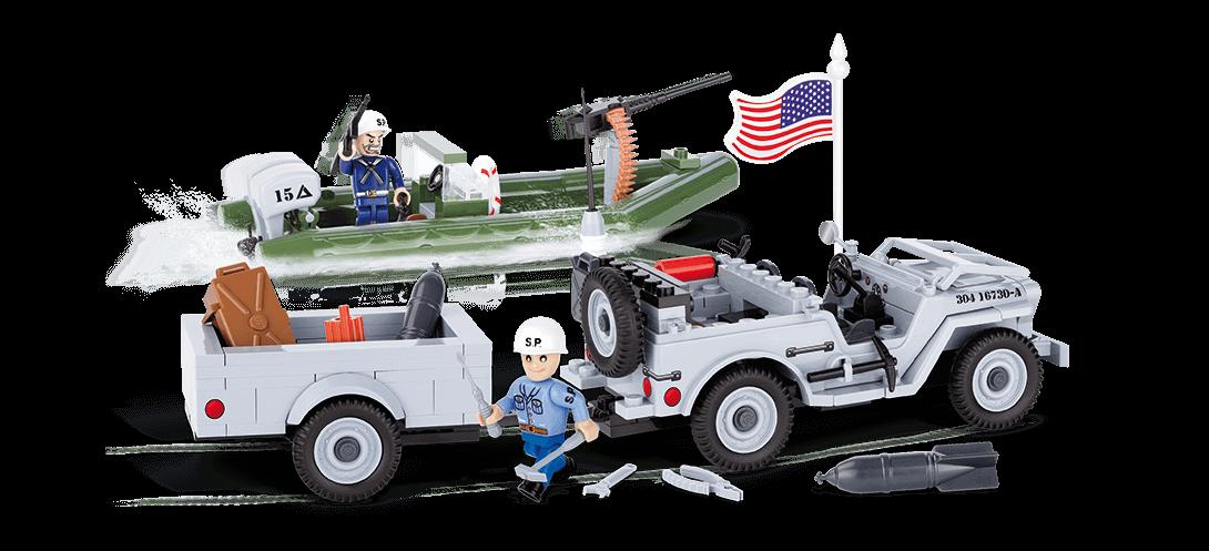Jeep Willys MB Navy - COBI-24193