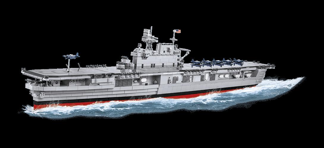 Porte-avions USS ENTERPRISE CV-6 COBI 4815