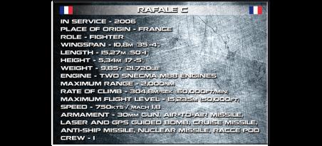 Chasseur français Rafale C Référence COBI-5802