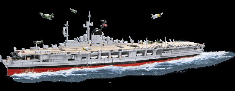 Porte-avions Graf Zeppelin Edition limitée Référence COBI-3087