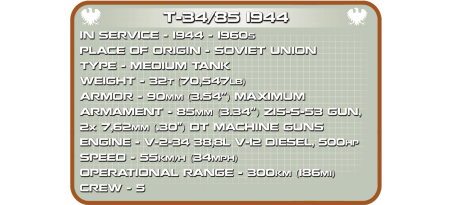 T-34 - 85 RUDY 102 Edition Limitée