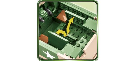 Half-track US M3 Gun Motor Carriage