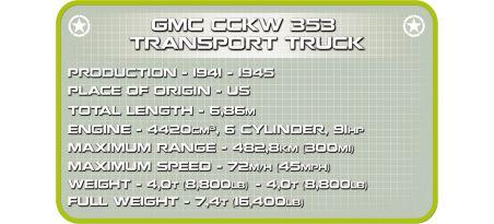 Camion de transport US GMC CCKW 353