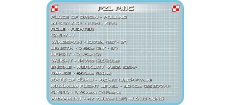 Chasseur polonais PZL P.11C