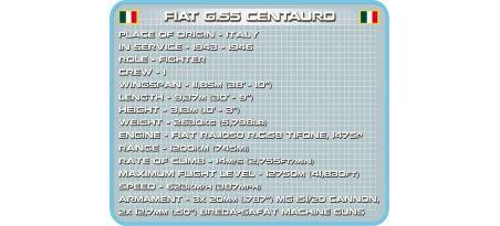 Chasseur italien FIAT G55 CENTAURO