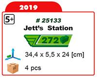 SUPER WINGS Station de  JETT