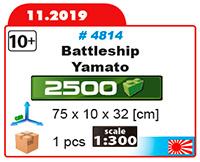 Cuirassé japonais YAMATO