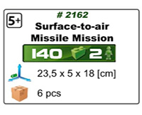 Mission missile sol-air