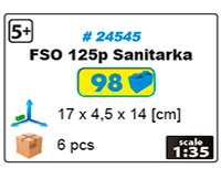 Ambulance FSO 125P SANITARKA