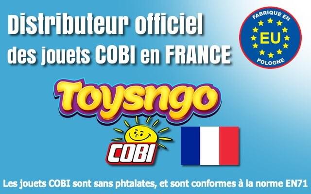 Distributeur officiel Cobi